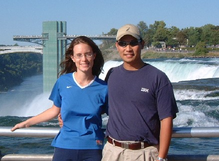 Claire and Greg at Niagara Falls